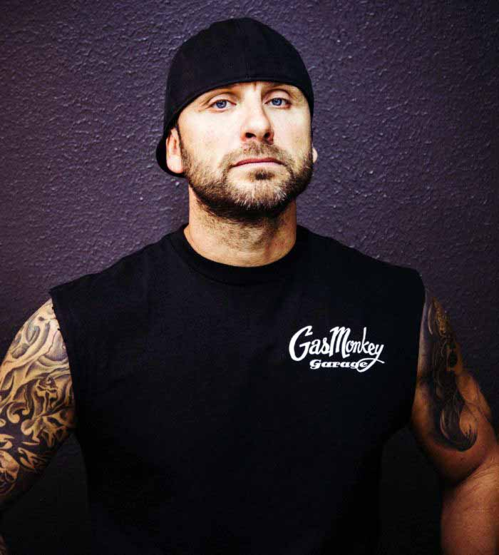 Member of Gas Monkey Garage, Charles Cimino.
