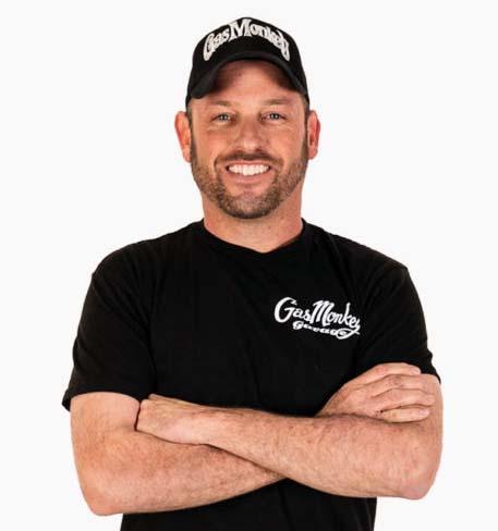 Gas Monkey Garage's Member, Jason Aker.