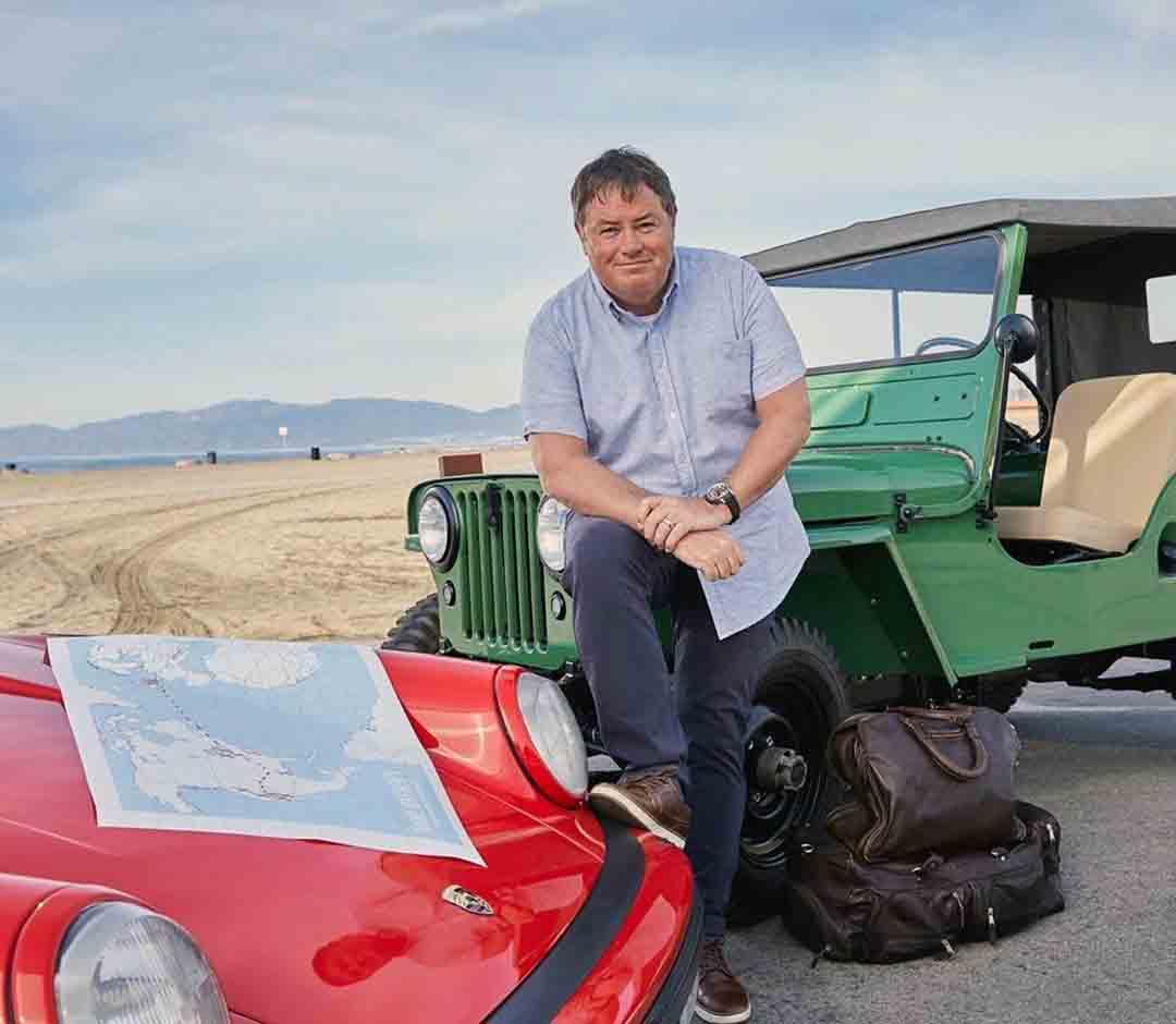 Car dealer and TV host, Mike Brewer.