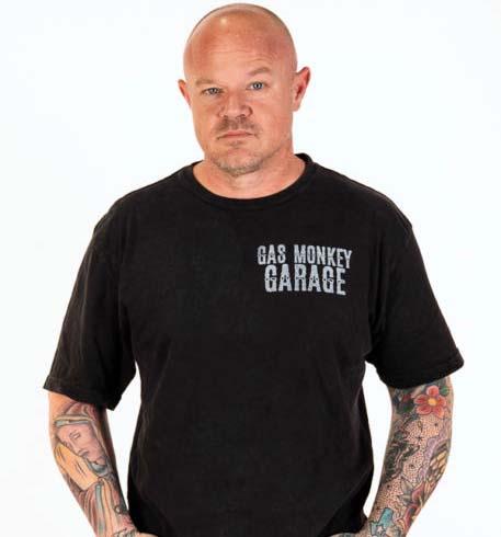 Gas Monkey Garage's lead painter, Mike Coy.