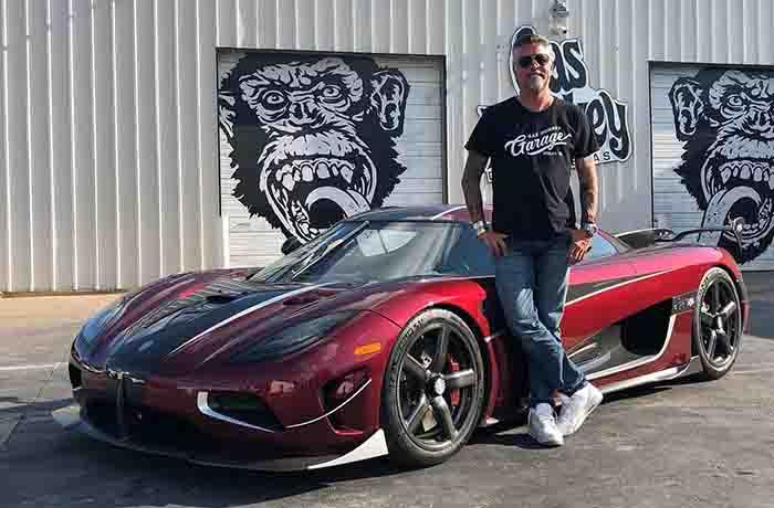 Gas Monkey Garage owner, Richard Rawlings