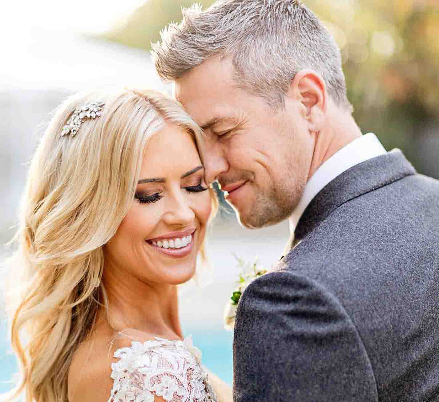 Ant Anstead with his wife, Christina Anstead.