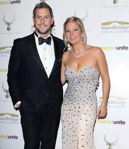 Ant Anstead with his ex-wife, Louise Anstead.