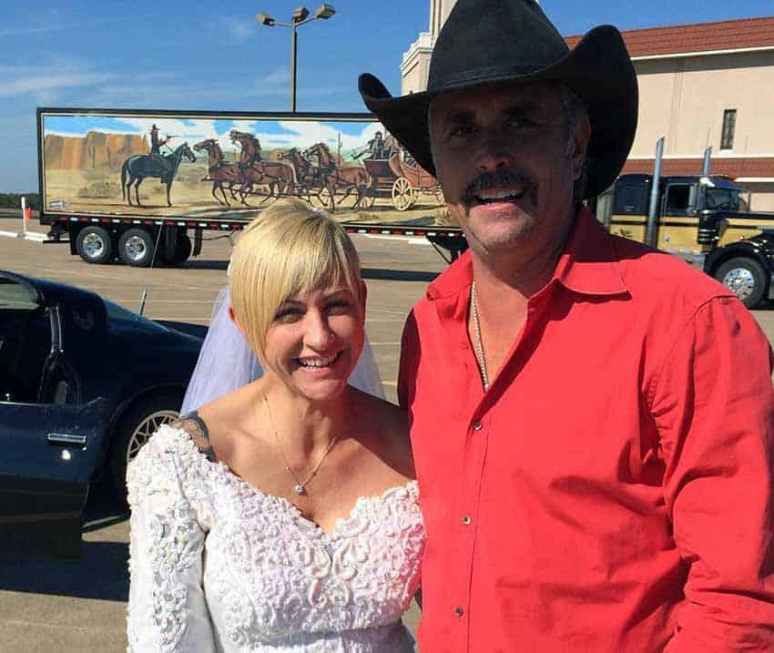 Christie Brimberry with Husband, Darren Brimberry