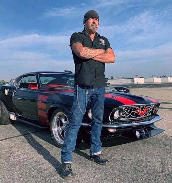 owner of Gotham Garage, Mark Towle