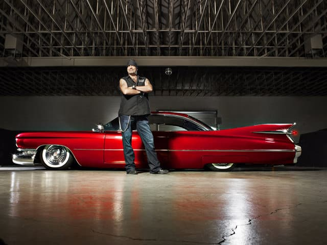 Danny Koker's car collection.