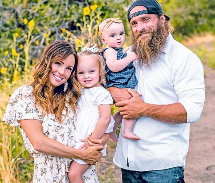 Diesel Dave Kiley wife and daughter.