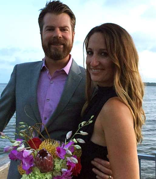 Mike Finnegan and his wife