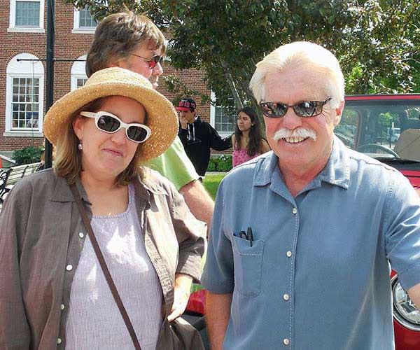 Wayne Carini and his wife. Laurie Carini.