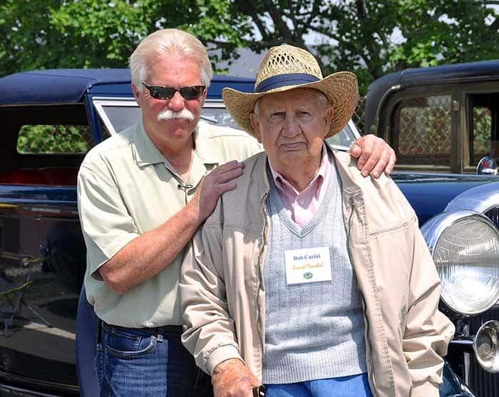 Wayne Carini and his father, Bob Carini.