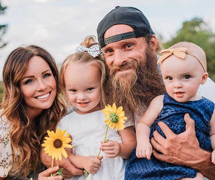 Diesel Dave with his family