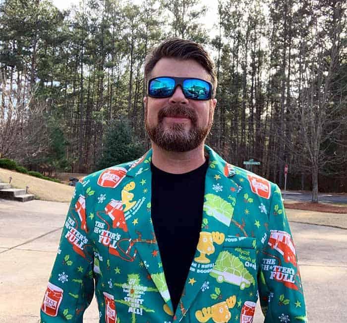 TV host, Mike Finnegan