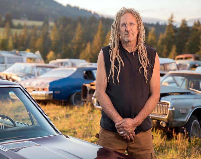 Proprietor of the Rust Bros garage, Mike Hall