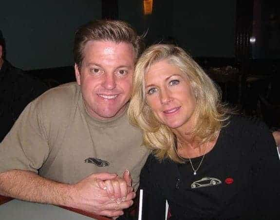 Image of American automobile designer, entrepreneur, Chip Foose and his wife