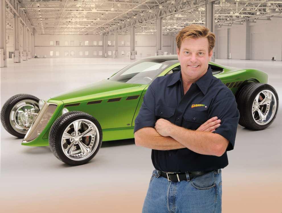 Image of American automobile designer, entrepreneur, Chip Foose