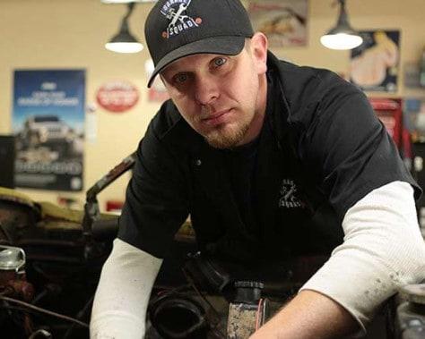 Image of amazing American mechanic and TV personality, Joe Zolper