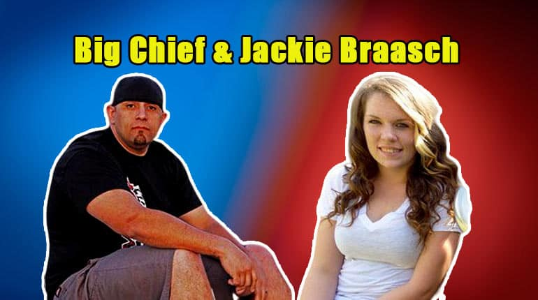 Big Chief and his girlfriend Jackie Braasch